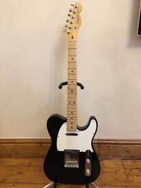 2015 Fender American Standard Telecaster Guitar - Black