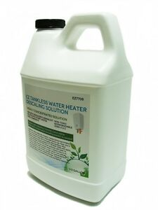 Tankless Water Heater Scale Cleaning & Flushing Descaler Solution, 1/2 Gallon