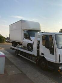 CHEAP 24/7 BREAKDOWN RECOVERY TOWING TRUCK OR JUMP START SERVICE CARS VANS 4X4 UK AND EUROPE.