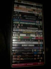 41 DVDS VARIOUS GENRES EX RENTALS