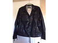 Harley Davidson Dark Shadows Leather Biker Jacket
