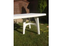 Patio Table - Large, Extendable & Rectangular