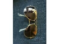Original Ray-Ban Aviator LA-Edition - Large Sunglasses