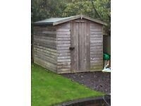 FREE GARDEN SHED 6ft x 10ft IN EXCELLENT CONDITION