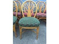 Cottage Wicker chairs 21 Available solid job lot garden