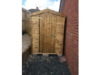 7ft x 4ft T&G Garden Shed