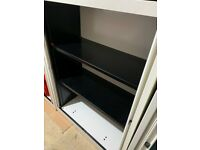 BISLEY Office Cabinet, Filing Cabinet sliding door with 2 shelf, good condition