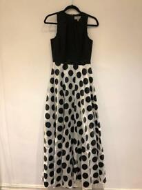 Coast formal polka dot design dress- prom or any formal event