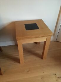 2 side/lamp tables - excellent condition