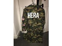Hera London camo jacket