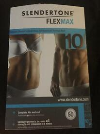 Slender tone flex max toning belt