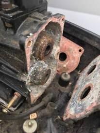 Penta 14hp outboard motor spares or repair