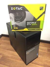 High Spec Gaming Computer PC (Intel i7 3770, 32GB RAM, GTX 1050 Ti 4GB, 128GB SDD, 256GB SSD)