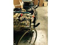 Old Vintage Racing Bicycle for Sale. Raleigh handle bar, DIY