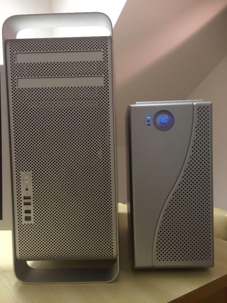 Mac Pro Tower & Cinema Display HD Full editing System & Fibre RAID storage & Blackmagic Eclipse