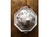 Laura Ashley Chinese silk bowl