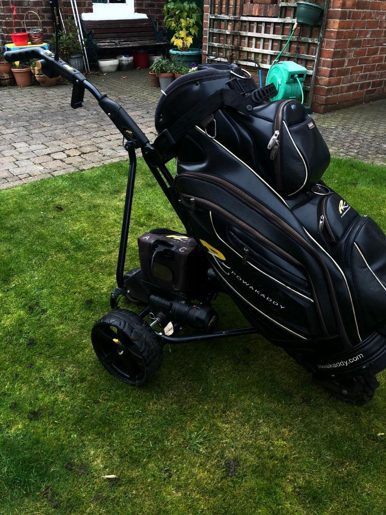 Powakaddy Robokaddy (remote control) and powakaddy golf bag remote golf  cart trolley with bag | in Chester Le Street, County Durham | Gumtree
