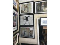 Framed Banksy prints available
