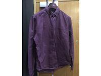 Mens Next Cotton Oxford shirt, size large