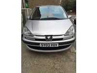 PEUGEOT 807 7 SEATER LONG MOT PX WELCOME