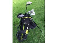 Junior Golf set and practice net