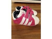Baby girls adidas shoes