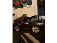 6v electric pedal or remote control audi car