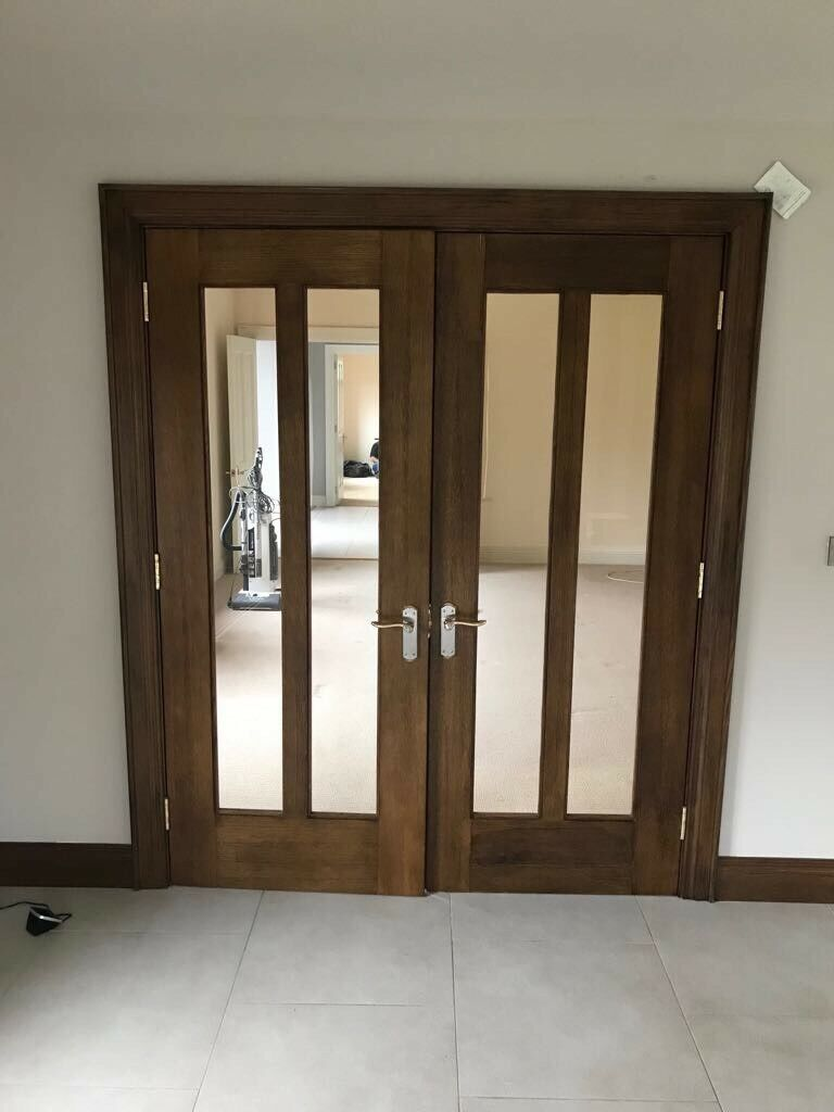 Set of double doors