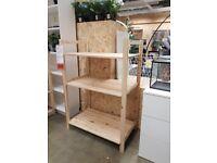 IVAR Shelving unit, pine 89x50x124 cm, IKEA MILTON KEYNES #bargaincorner