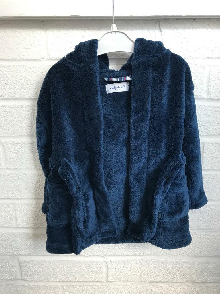 Blue dressing gown 6-9 months   in Church Crookham, Hampshire   Gumtree