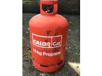 Full unused 13kg Calor gas Propane bottle