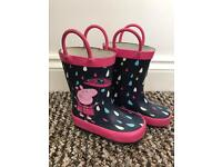 Peppa Pig wellies (infant size 4)