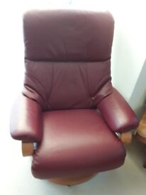 Genuine Himolla recliner . Great condition. Manufactured in 2013, colour Merlot.