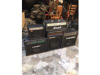 Various Broken Amps... Cheap!