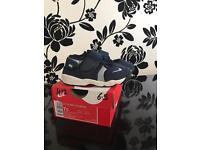 Toddler UK size 6.5. Navy, Nike Rift trainers
