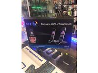 Bt 2 x home phones system dual brand new, worth £130, buy from retailer collect from store