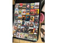 Selection of DVDs available