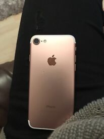 iPhone 7 rose gold unlocked