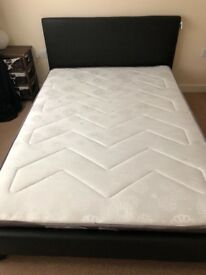 Double bed, 1 year old, excellent condition