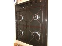Fan assisted oven and gas hob