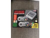 SNES Classic Mini Brand New Unopened