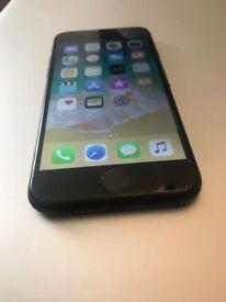 iPhone 7 128 GB Matt Black Factory Unlocked + 3 Month Seller Warranty