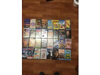 Approx 90 video tapes