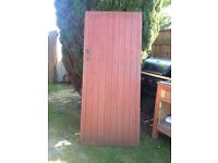 Wooden Gate (light brown) with Iron Mongery