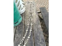 2 x garden chains heavy