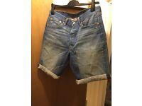 Levi's 501's shorts W32