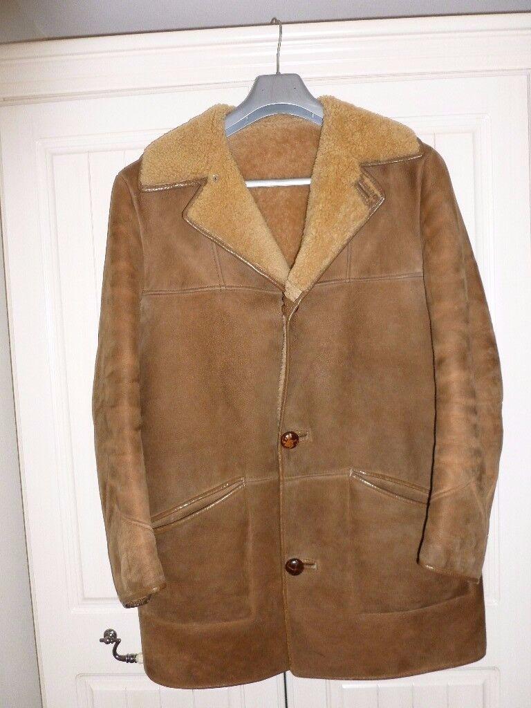 Gents Handmade Sheepskin Coat (Nurseys)