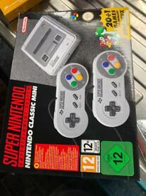 Boxed used mini SNES