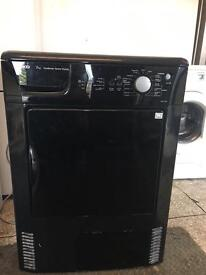 Black Beko tumble dryer condenser 7kg
