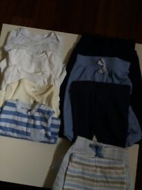 T-shirt n joggers for birth to 3months